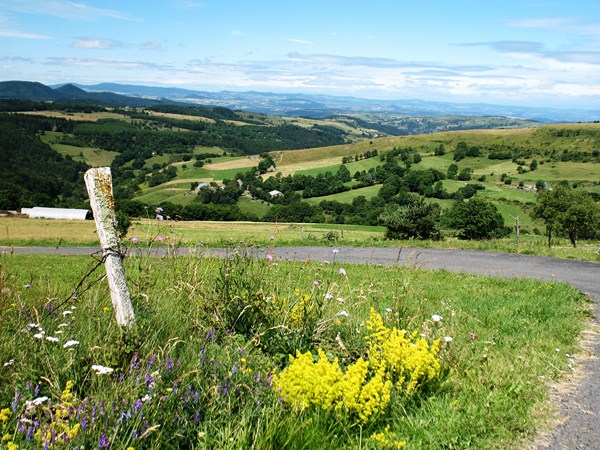 Independent walking holiday Haute Loire Auvergne cevennes France